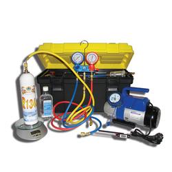 SMC-042-1+ портативное устройство для вакуумирования и заправки систем кондиционирования