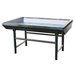 Стол для охлаждения рыбы льдом 1,8 м